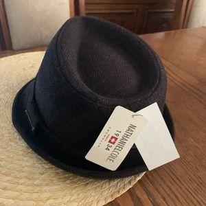Nathaniel Cole *HOST PICK *Tweed  Fedora Mens Hat